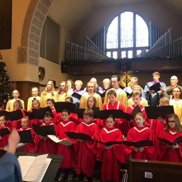 First Congo youth choir