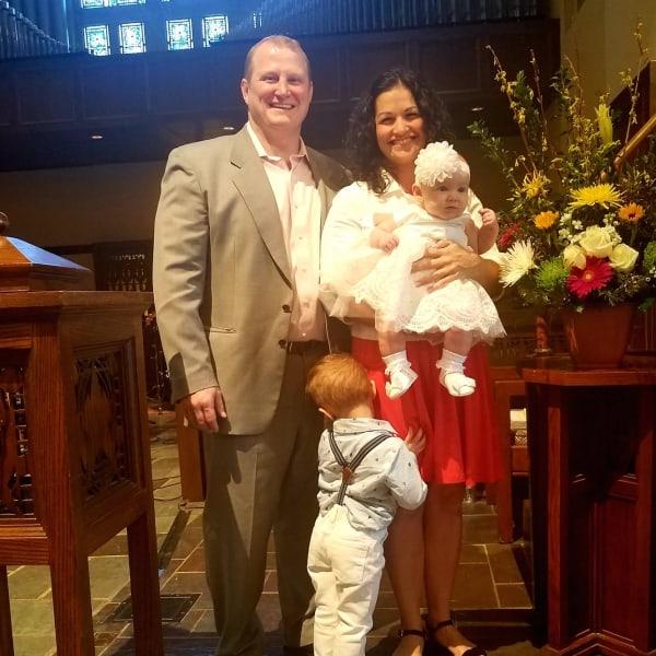 Gianna baptism 2019