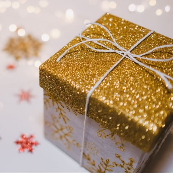 A gift wrapped up