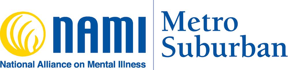 NAMI Metro Suburban logo
