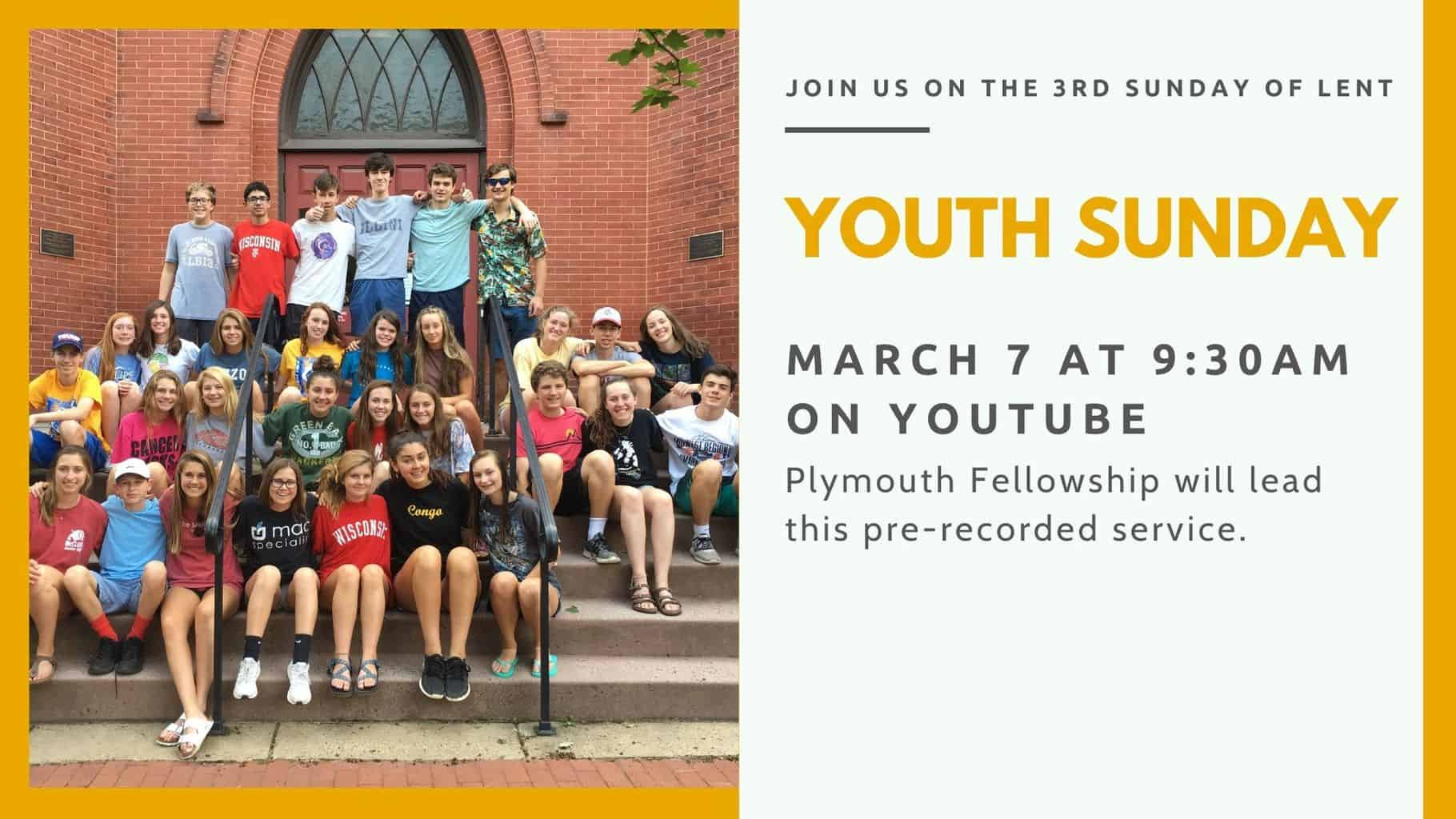 Youth Sunday 2021 graphic