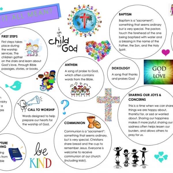 Children's Guide to Worship PDF thumbnail