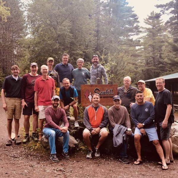 Men's Boundary Water Trip in 2019