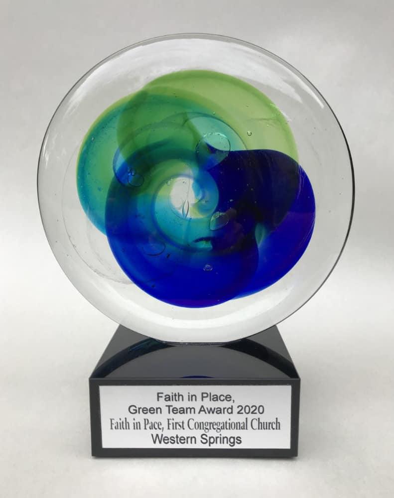The Green Team won the Faith in Peace Award in 2020